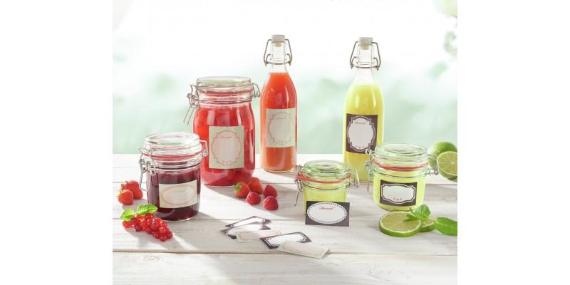 Etichete Borcane & Sticle Autoadezive   Conservare Alimente